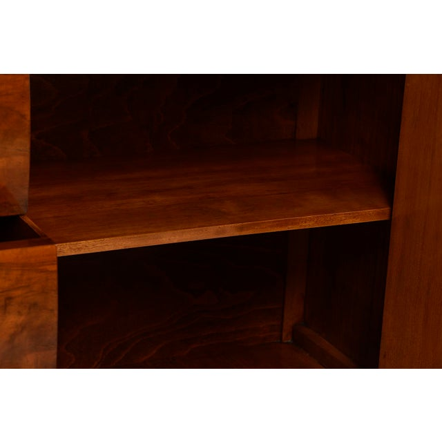 French Art Deco Walnut Sideboard For Sale - Image 10 of 13