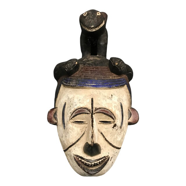 African Art Tribal Art Igbo Mask For Sale