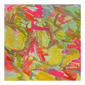 Image of Canary Yellow Paintings