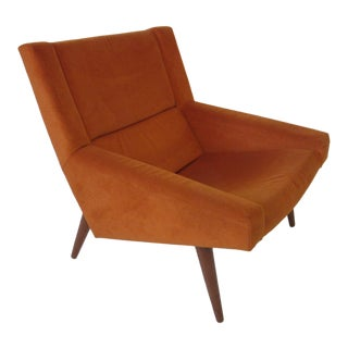 Illum Wikkelso Lounge Chair for Soren Willadsen Denmark For Sale