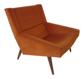 Image of Burnt Orange Lounge Chairs
