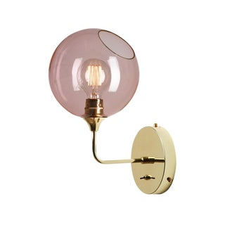 Ballroom the Wall Short Sconce - Pink For Sale