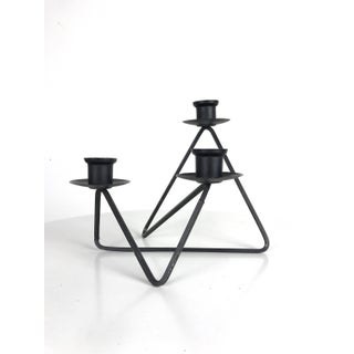1950s Vintage Andree Ferris and Reta Shacknove Modernist Black Wire Candleholders- A Pair Preview