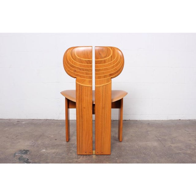1970s Four Africa Chairs by Afra & Tobia Scarpa For Sale - Image 5 of 10