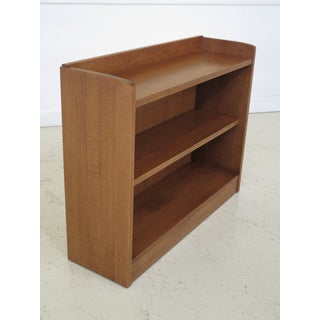 1990s Vintage Stickley Mission Style Open Bookcase Preview