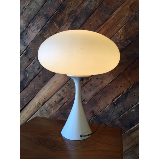 Bill Curry Mid-Century Mushroom Lamp - Image 4 of 4