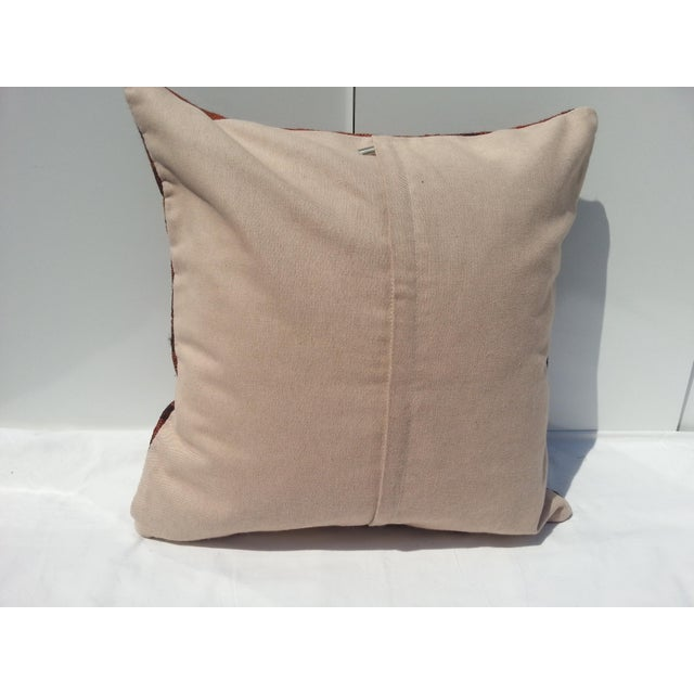 Handwoven Turkish Pillow Cover For Sale In Austin - Image 6 of 6