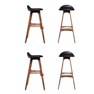 Customizable Set of Four Boyd Stools For Sale