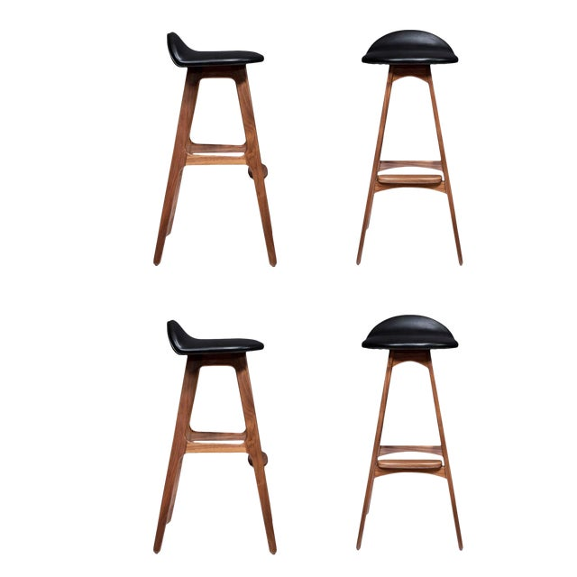 Magnificent Customizable Set Of Four Boyd Stools Ncnpc Chair Design For Home Ncnpcorg