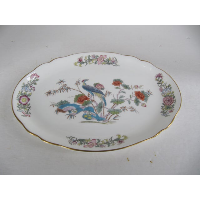 Beautiful Wedgewood bone china chinoiserie oval platter. Would look wonderful on a vanity, a wall or on a table holding...