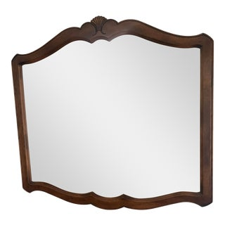 1980s French Country Ethan Allen Mirror For Sale