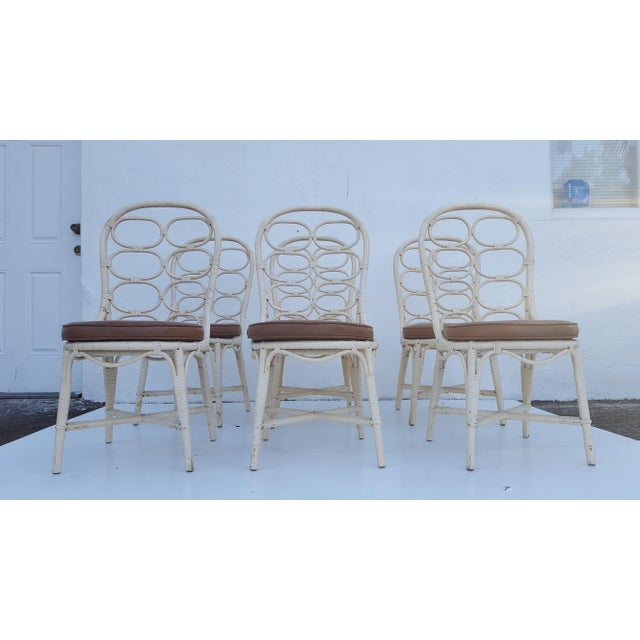 Franco Albini Inspired Rattan Dining Chairs - Set Of 6 - Image 11 of 11