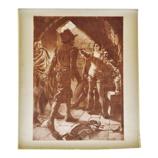 1899 Photogravure of William De Leftwich Dodge's Fidelio Opera Painting For Sale
