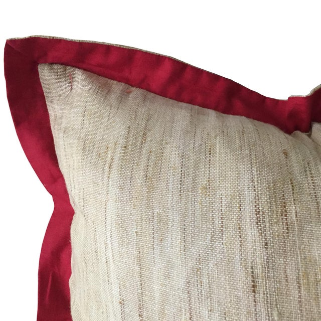 The peacock, the national bird of India, is a symbol of grace and beauty. This majestic, bold patterned pillow will add a...