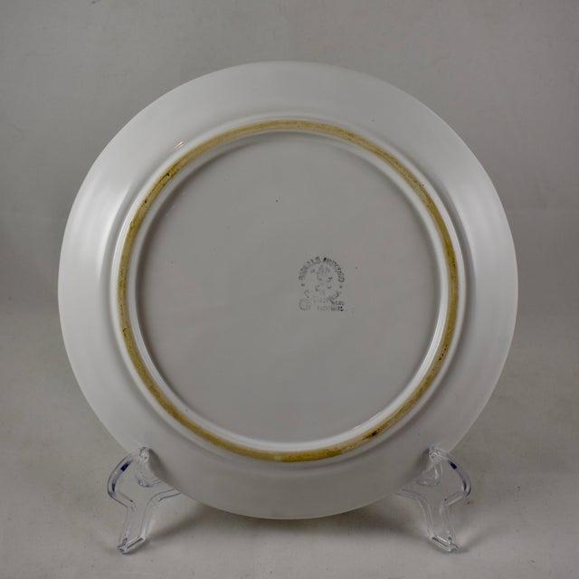 Ceramic Bordallo Pinheiro C. Rainha Portuguese Cauliflower Plate For Sale - Image 7 of 9