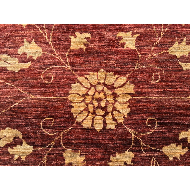 "Brand New Very Soft Turkish Oushak Rug - 5'5"" x 6' - Image 6 of 11"
