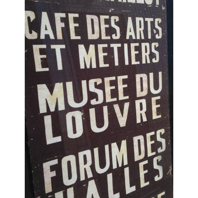 French Train Sign - Image 6 of 7
