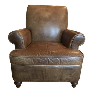 Room & Board Leather Club Chair