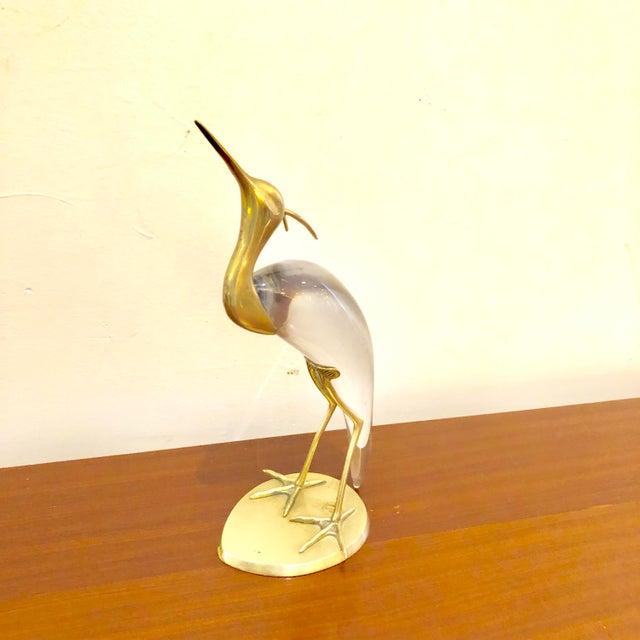 Luca Bojola 1970s Vintage Luca Bojola Crane Sculpture For Sale - Image 4 of 10
