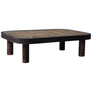 Low Coffee Table by Roger Capron, France, 1960s For Sale