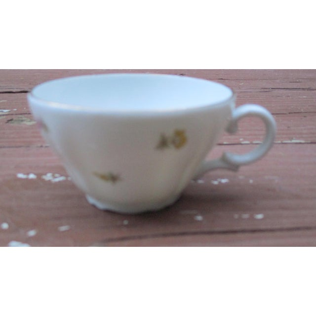 Richard Ginori Italian Porcelain Tea Cups - 24 Piece For Sale - Image 11 of 11