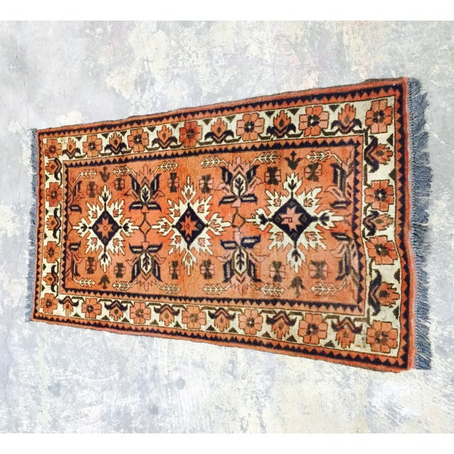 "Turkaman Persian Handmade Rug - 2'6"" X 4'8"" - Image 2 of 9"