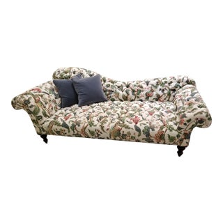 George Smith Furniture Fainting Couch For Sale
