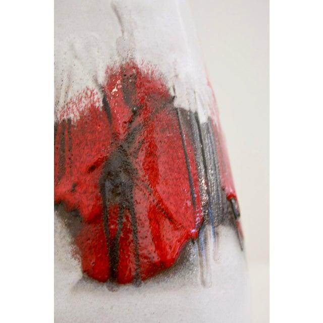Lava Glaze Pottery Vase from Germany - Image 6 of 11