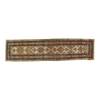 Early 20th Century Antique Bakhshiash Rug - 3′3″ × 14′2″ For Sale