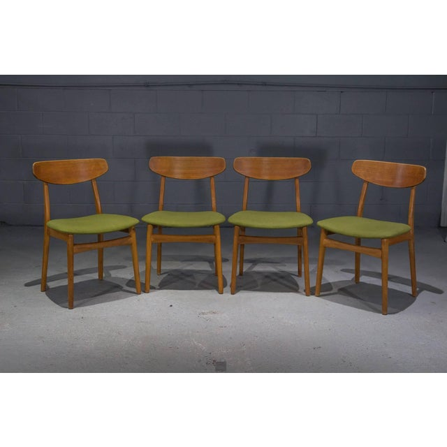 Danish Modern Teak Dining Chairs- Set of 4 For Sale - Image 10 of 10