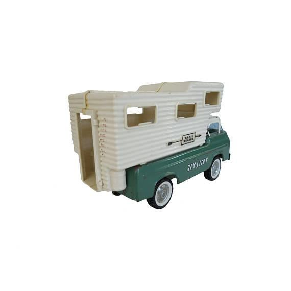 Children's Vintage Nylint Trail Blazer Camper Truck Toy For Sale - Image 3 of 3