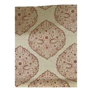 Lee Jofa Lido Petal Linen Blend Fabric Print 1 7/8 For Sale