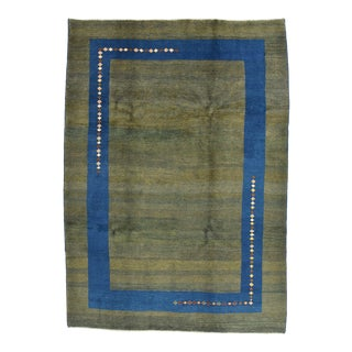 1980s Persian Gabbeh Rug - 7'2'' X 10' For Sale