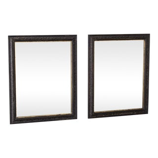 Pair Antique French Framed Mirrors circa 1890