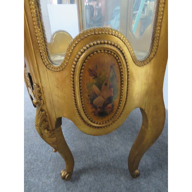 Vernis Martin French Curio Cabinet For Sale In Philadelphia - Image 6 of 10