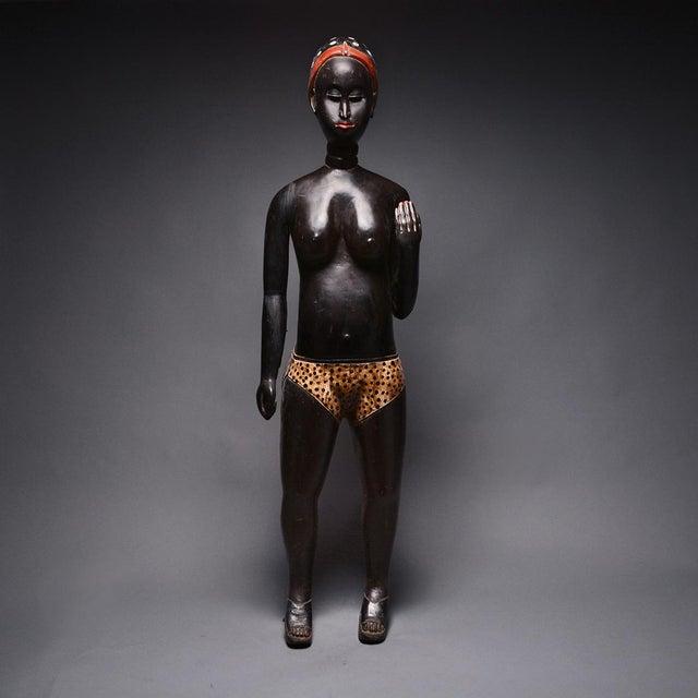 Baulé Standing Female Figure For Sale - Image 4 of 4
