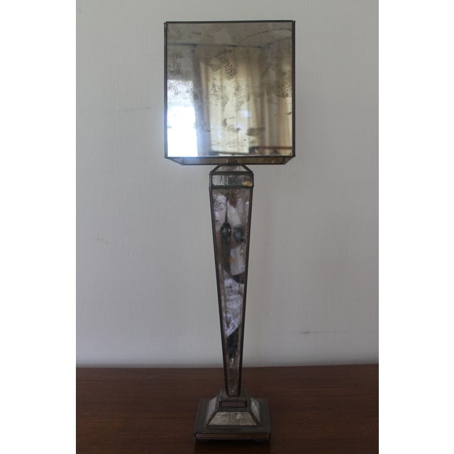 Worlds-Away Mirrored Lamp For Sale In New Orleans - Image 6 of 9