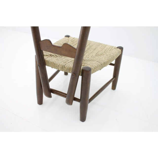 Wood Gio Ponti Fire Side Chair, Italy, 1939 For Sale - Image 7 of 11