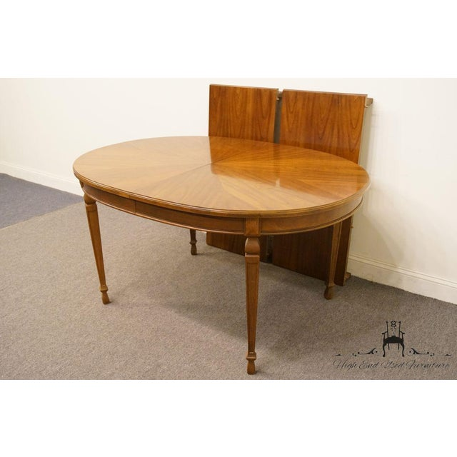 "Drexel 20th Century Traditional Drexel Ponte Vecchi Collection 92"" Dining Table For Sale - Image 4 of 11"