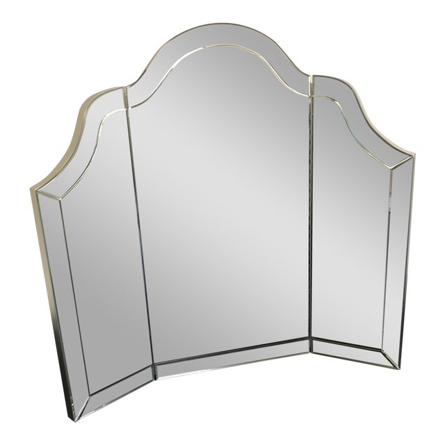 Nancy Corzine Harlow Three Part Vanity Mirror
