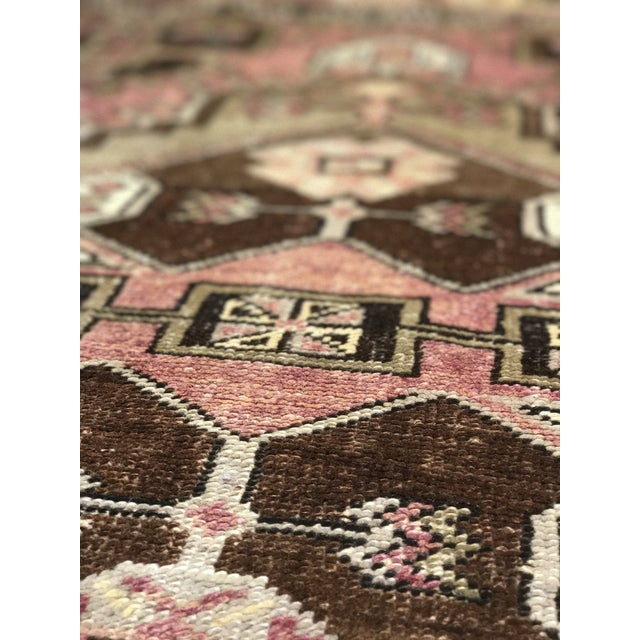 """Bellwether Rugs Distressed Look Vintage Turkish Oushak - 2'11""""x4'7"""" - Image 8 of 11"""