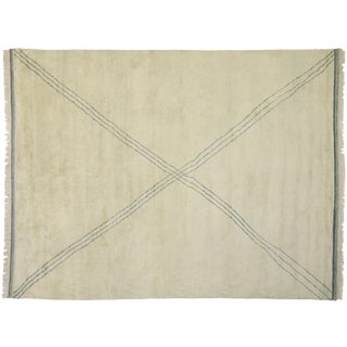 Contemporary Moroccan Area Rug - 9′3″ × 11′10″ For Sale