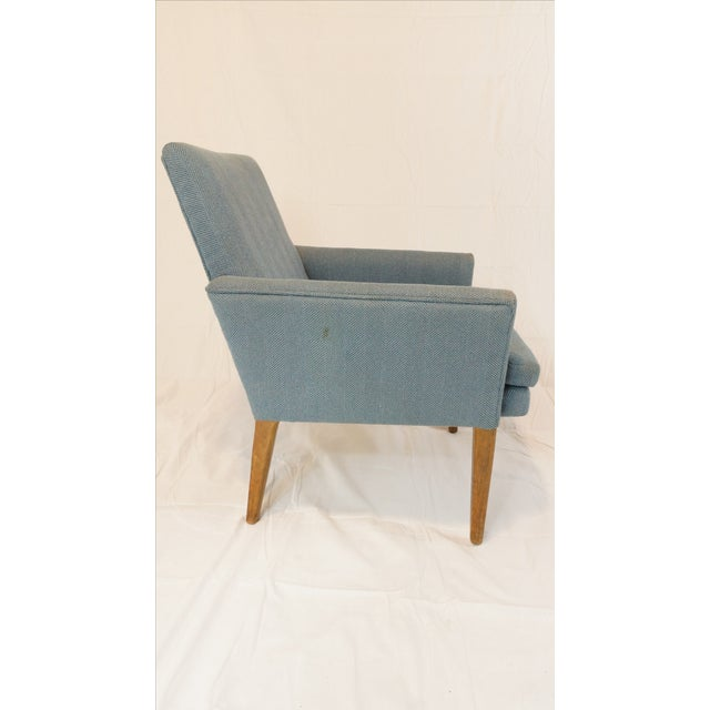 Danish Modern Vintage Mid-Century Danish Style Arm Chair For Sale - Image 3 of 4