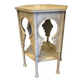 Uttermost Hexagonal Side Table For Sale