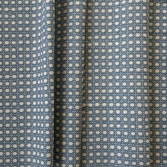 An exclusive to Chairish, LuRu's Wickerwork fabric is an ode to the traditional craft of plant weaving. It is a...