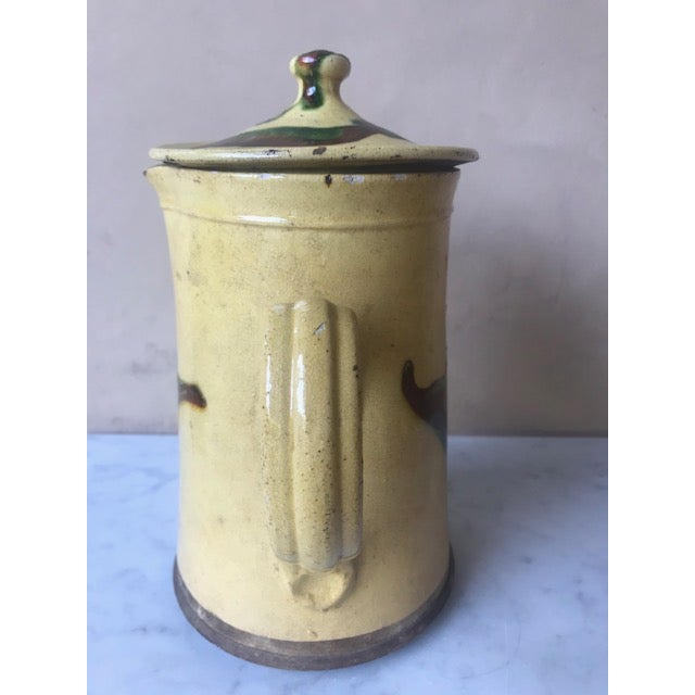 19th Century Lidded Jaspe Pitcher For Sale In San Francisco - Image 6 of 12