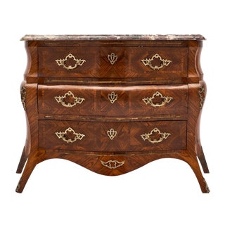 French Régence Style Chest of Drawers For Sale