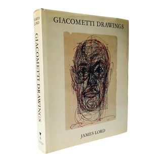 """1971 """"Alberto Giacometti Drawings"""" First Edition Art Book For Sale"""