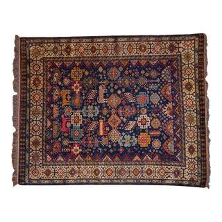 "1990s Indian Shiraz Design Carpet 5'4"" X 6'5"" For Sale"