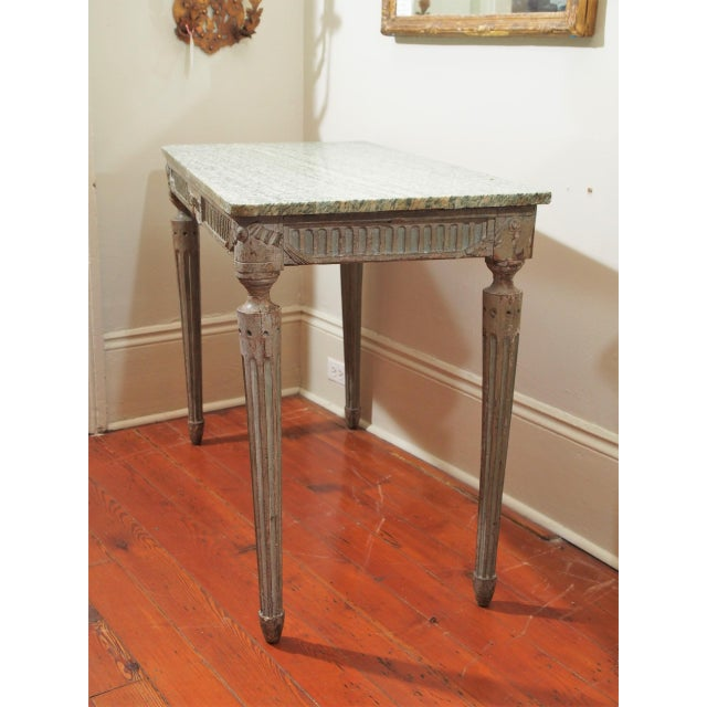 Louis XVI Console Table For Sale - Image 10 of 10